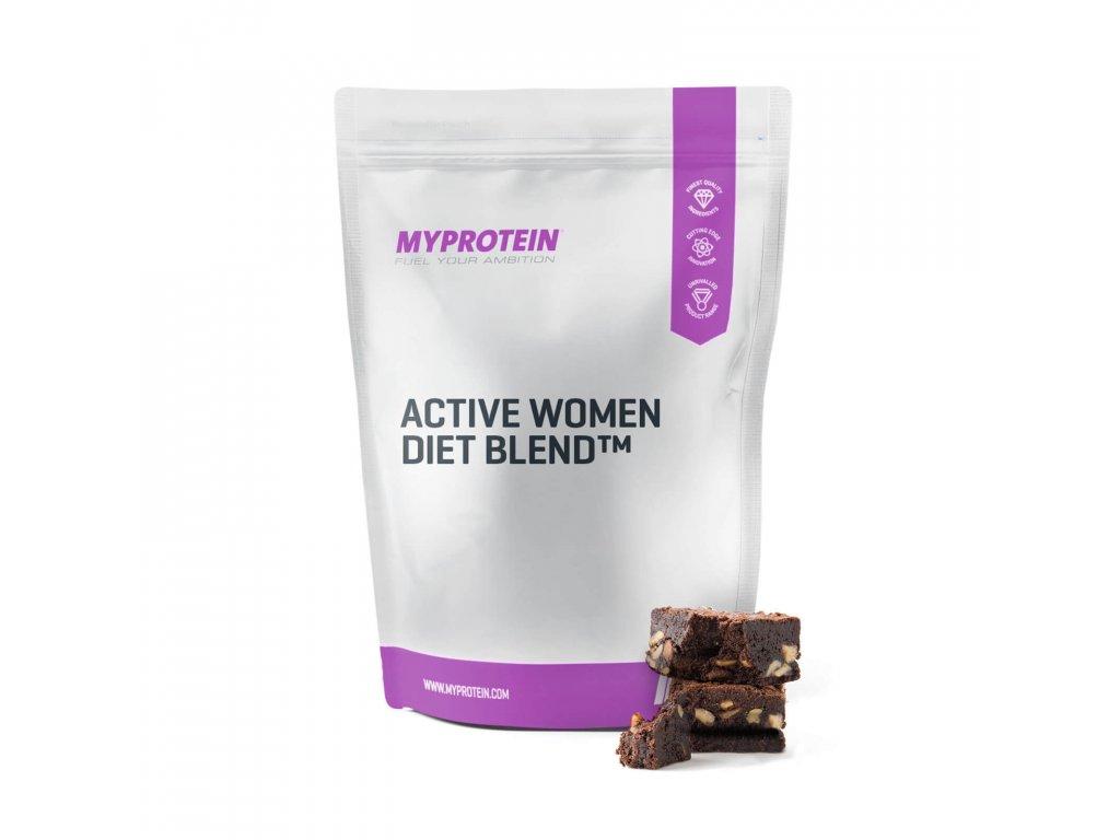 active women diet blend myprotein