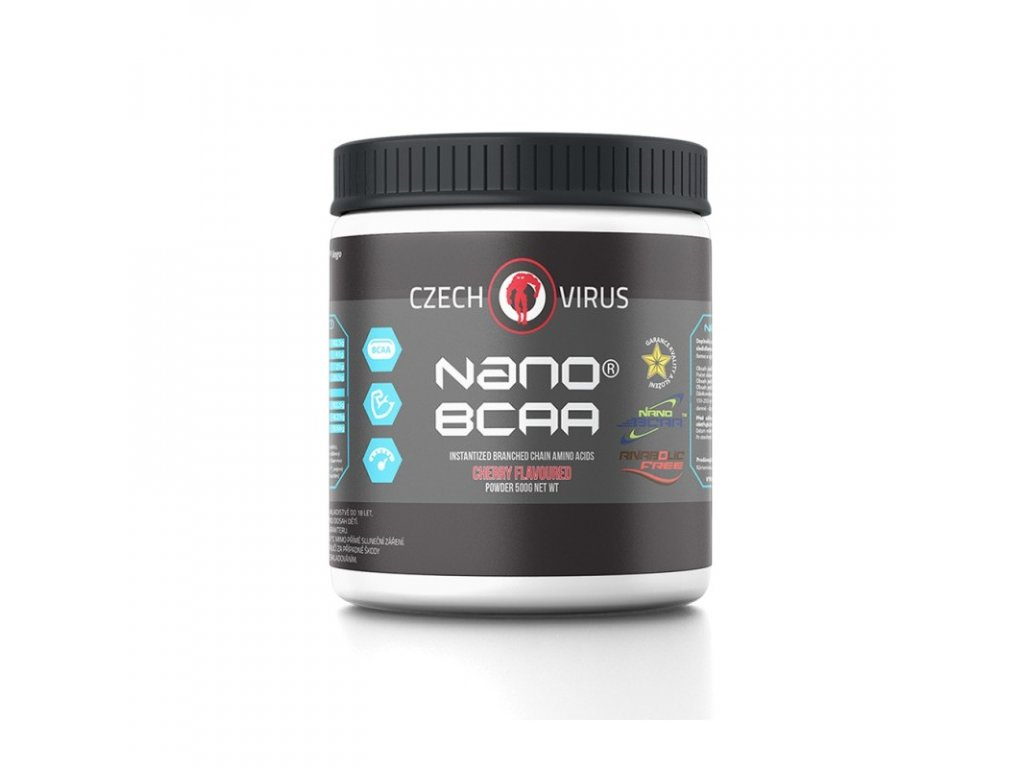 nano bcaa 500 g cherry czech virus