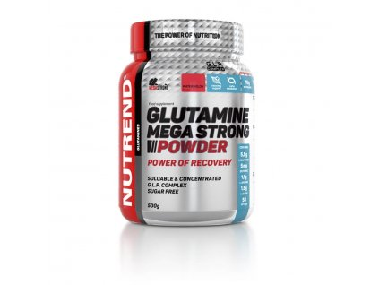 glutamine mega strong powder nutrend