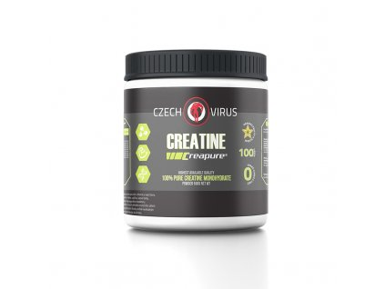 creatine creapure 500 g czech virus