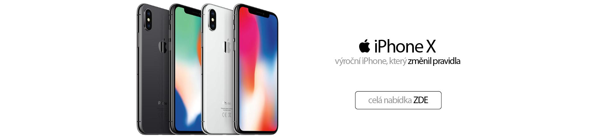 iPhoneX, výroční iPhone, který změnil pravidla