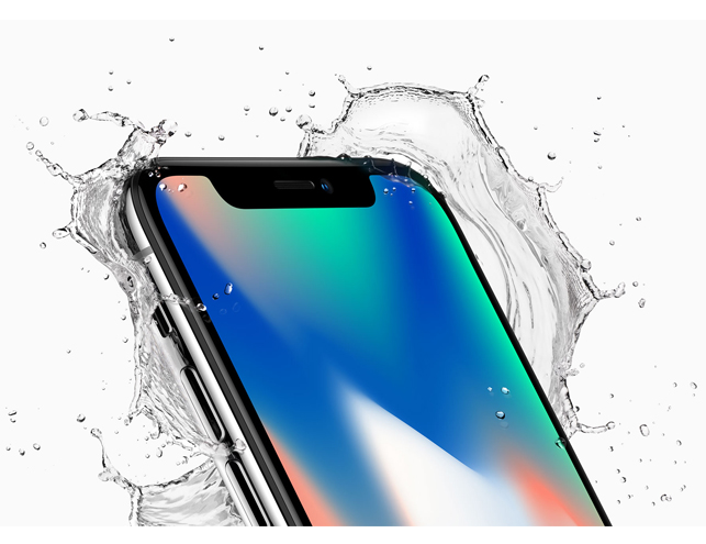 iPhoneX-waterresistant