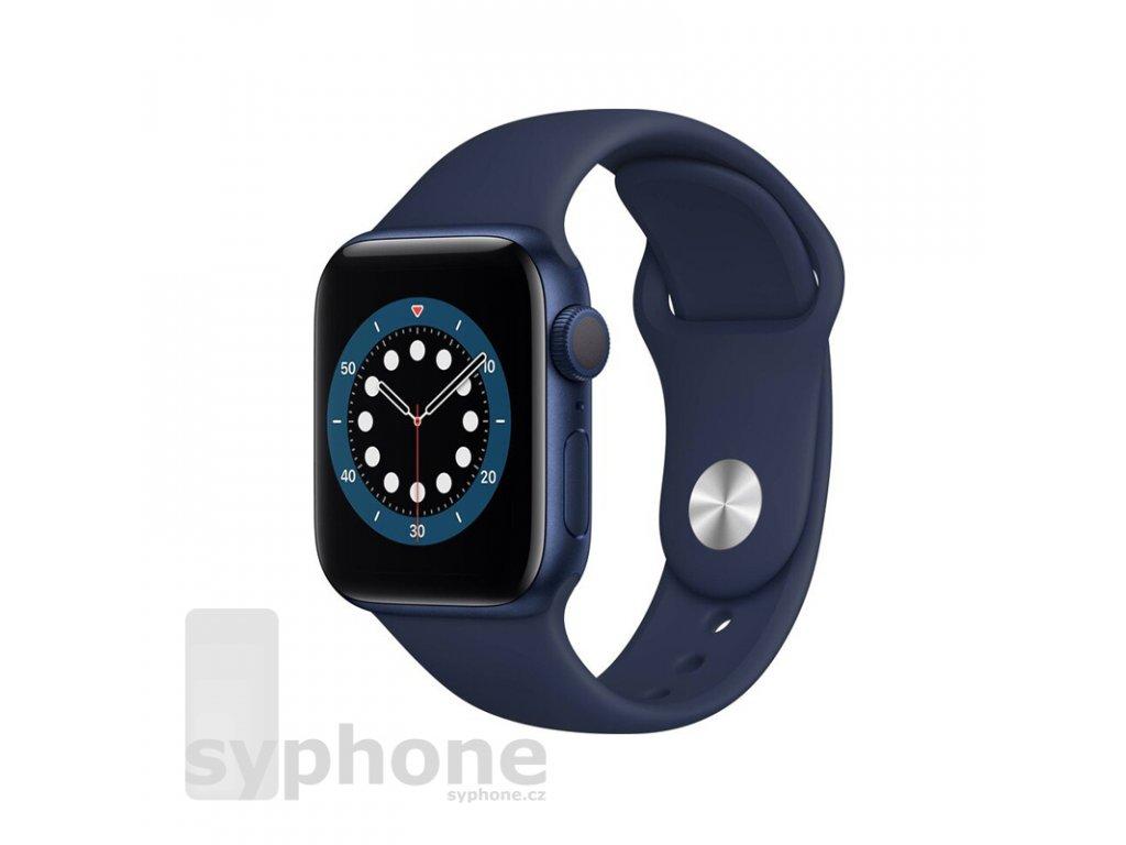 coteetci silicone sports band for apple watch 38 40 42 44mm darkblue uvodka