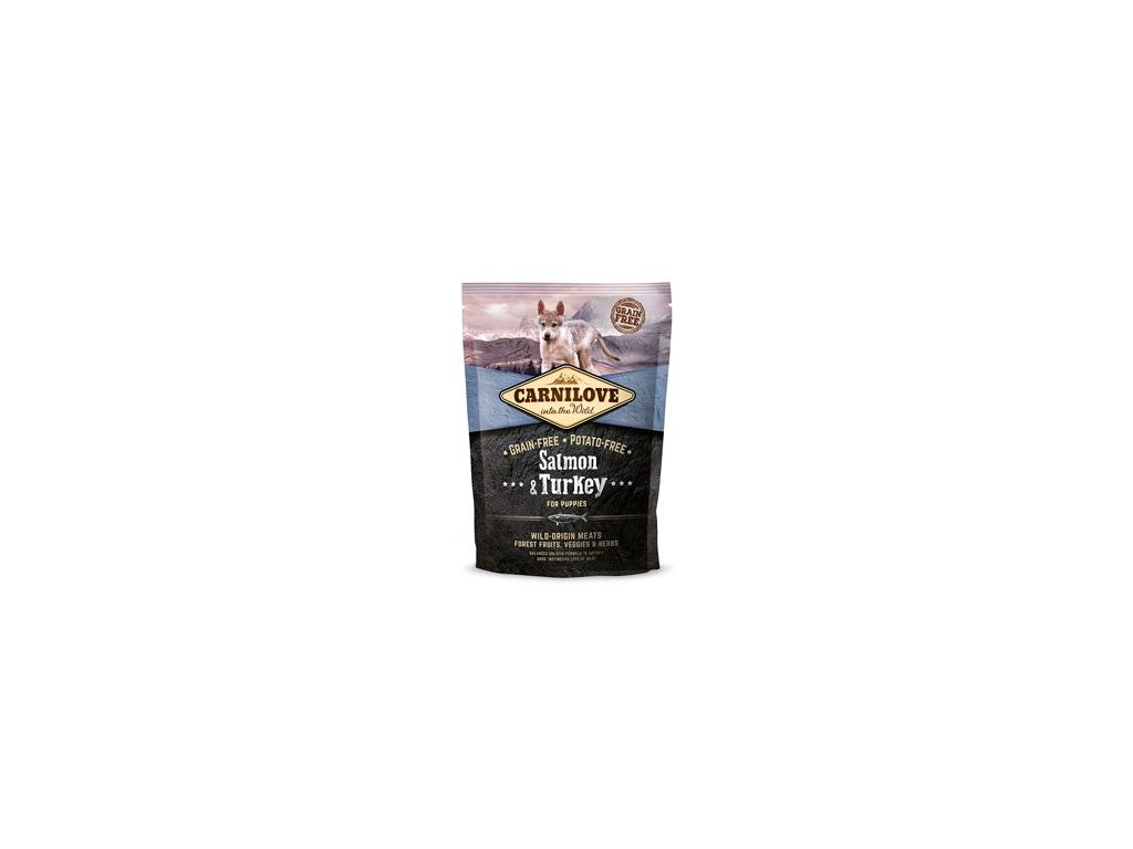 Carnilove Dog Salmon & Turkey for Puppies 1,5kg