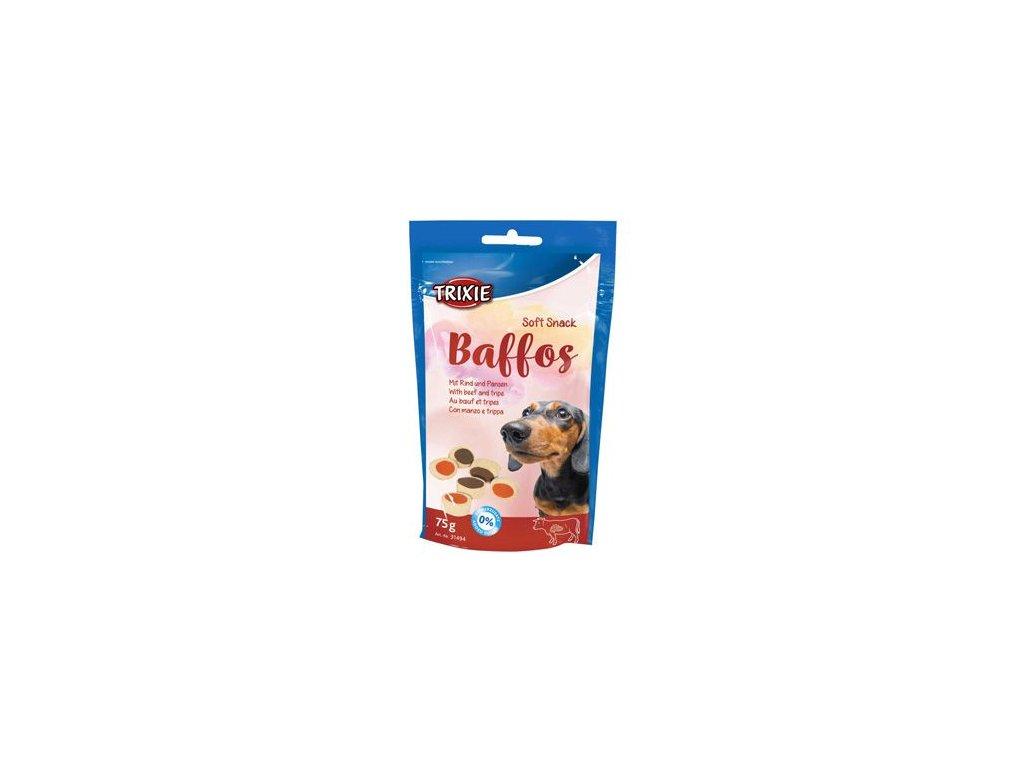 Trixie BAFFOS mini kolečka hovězí/dršť 75g TR