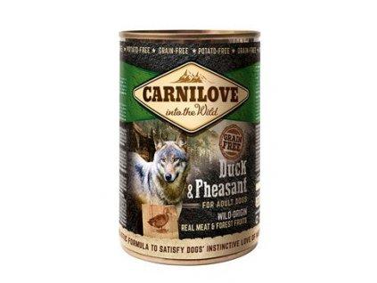 Carnilove Wild konz Meat Duck & Pheasant 400g