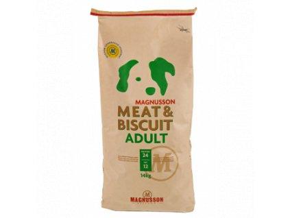Magnusson Meat Biscuit ADULT 14kg+Doprava zdarma+Kupón