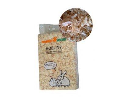 Hobliny podestýlka lis. hrubá TOP RabWeed 30l/0,6 kg