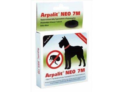Arpalit Neo 7M obojek antiparazitární Bezbar. 66cm pes