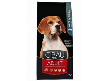 CIBAU Adult Medium 12kg+2kg ZDARMA