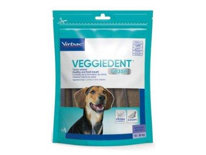 C.E.T.pes Žvýkací plátky Veggiedent NEW M 15ks