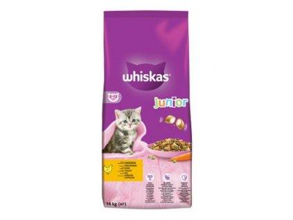 Whiskas Dry Junior s kuřecím masem 14kg