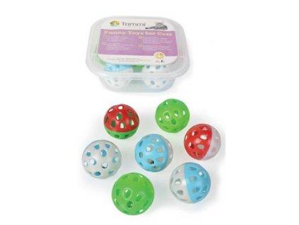Hračka BOX Míček Jingle 2-barevný 4cm /7ks