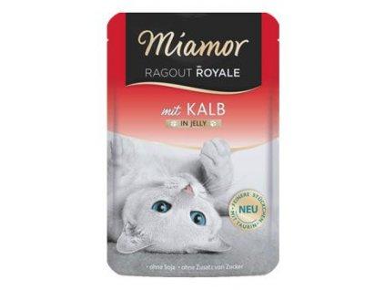 Miamor Cat Ragout kapsa Royale telecí v želé 100g