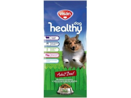 Visán HEALTHY dog BEEF 15kg