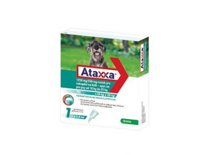Ataxxa Spot-on Dog L 1250mg/250mg 1x2,5ml