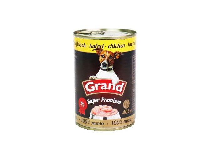 GRAND konz. Superpremium pes drůbeží 405g