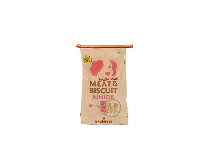 Magnusson Meat Biscuit JUNIOR 10kg+Doprava zdarma