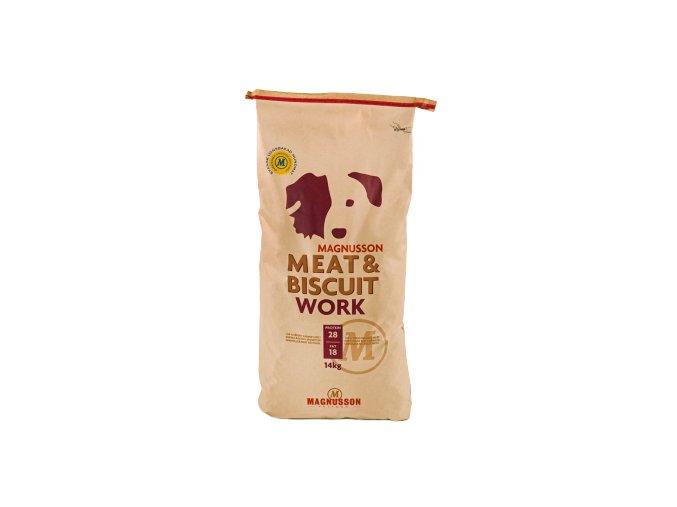 Magnusson Meat Biscuit WORK 14kg+Doprava zdarma+Kupón