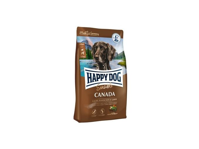 Happy Dog Supreme Sensible CANADA los,král,jehn 1kg