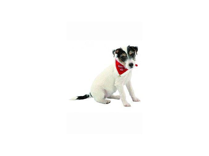 Vánoční šátek pro psa 37-47cm/20mm M TR 1ks