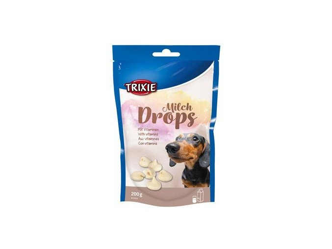 Trixie Drops Milch s vitaminy pro psy 200g TR