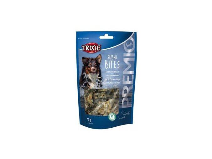 Trixie Premio SUSHI BITES rybí kostky pro psy 75g TR