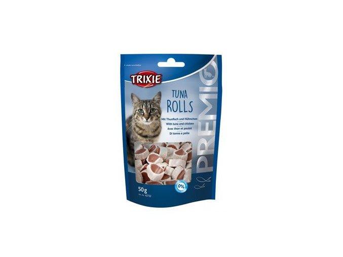 Trixie Premio Tuna Rolls s tuňákem/kuřecím kočka 50g