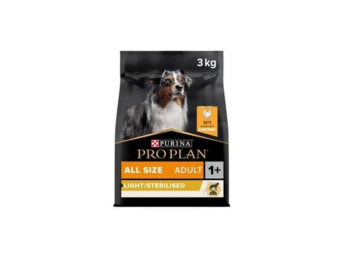 ProPlan Dog All Size Adult Optiweight(Sterilised) 3kg