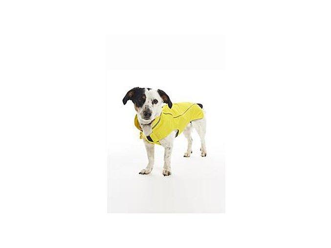 Obleček Raincoat Citrónová 60cm XXL KRUUSE