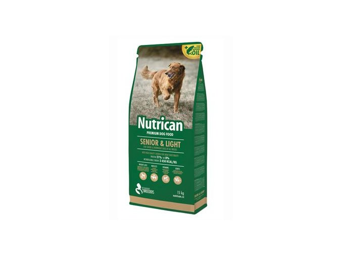 NutriCan Senior Light 15kg new