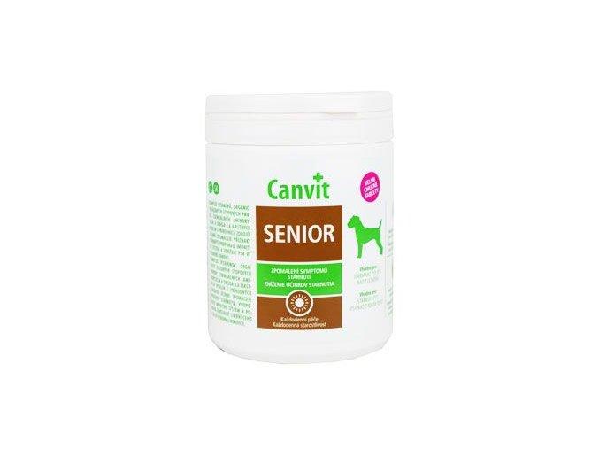 Canvit Senior pro psy ochucený 500g