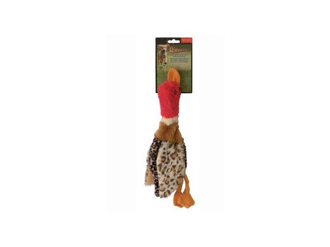 Hračka pes Kachna pískací 35cm Skinneeez
