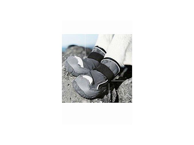 Botička ochranná Hurtta Outback Boots černá XXL 2ks