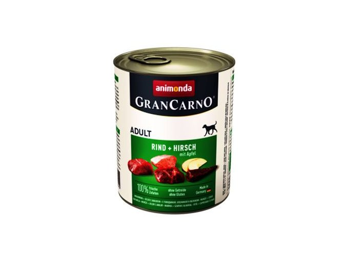 Animonda GRANCARNO konz. ADULT jelen/jablko 800g