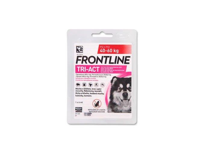 FRONTLINE TRI-ACT spot-on pro psy XL (40-60 kg)-1x6ml