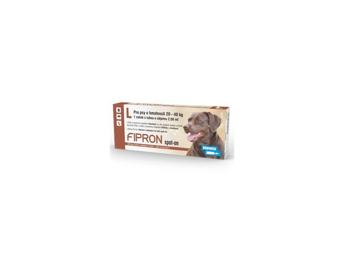 Fipron 268mg Spot-On Dog L sol 1x2,68ml