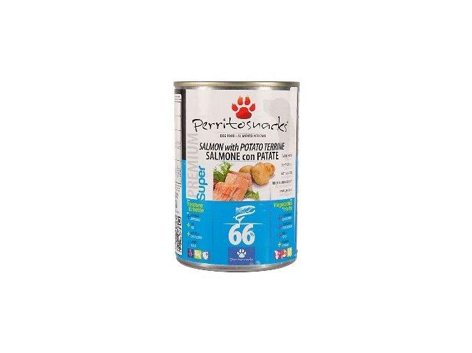 Perrito konzerva pes Salmon, Potato & Herbs 400g