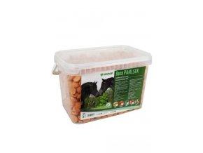Mikrop pochoutka pro koně kyblík Melasa 2,5kg