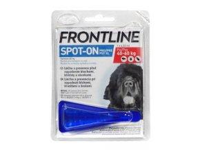 FRONTLINE SPOT ON pro psy XL (40-60kg) - 1x4,02ml