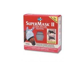 FARNAM Supermask II s ušima vel. HORSE šedo-kaštanová