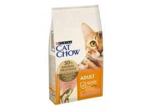 Purina Cat Chow - tuňák,losos 1,5kg