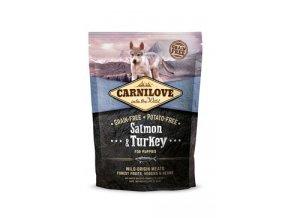 Carnilove Dog Salmon & Turkey for Puppies 1,5kg