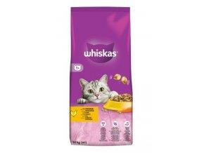 Whiskas Dry s kuřecím masem a játry 14kg