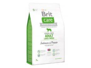 Brit Care Dog Grain-free Adult LB Salmon & Potato 3kg