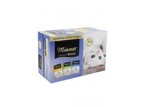 Miamor Cat Ragout kapsa Multi, kuře+tuňák+kr 3x4x100g