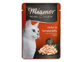 Miamor Cat Filet kapsa kuře+rajče v želé 100g