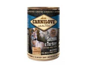 Carnilove Wild konz Meat Salmon & Turkey 400g