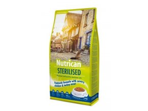 NutriCan Cat Sterilised 10kg