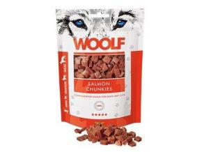 WOOLF pochoutka salmon chunkies 100g